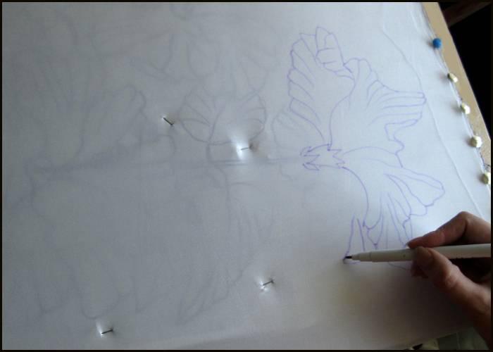 Как перенести пропорции на бумагу